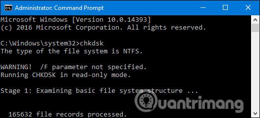 Cách khắc phục sự cố ổ cứng với Chkdsk trong Windows 7, 8 và 10 - Ảnh minh hoạ 12