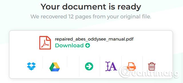 Cách sửa chữa hoặc khôi phục file PDF bị hỏng - Ảnh minh hoạ 3