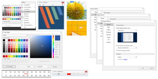 PicPick, công cụ chụp ảnh màn hình đa năng 3