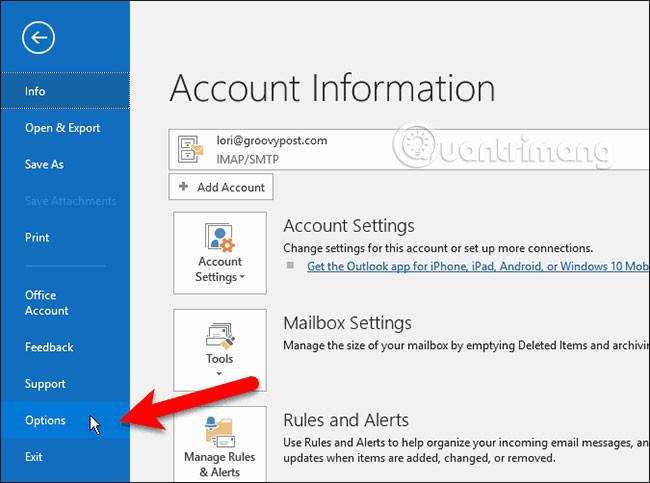 Cách mở liên kết trong Word, Outlook không cần phím Ctrl - Ảnh minh hoạ 5