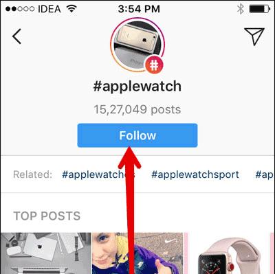 Cách theo dõi/hủy theo dõi Hashtag Instagram trên iPhone và iPad - Ảnh minh hoạ 2
