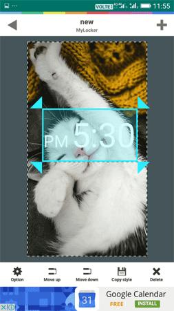 Tùy chỉnh các yếu tố trên màn hình khóa Android