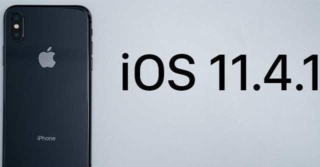 Apple phát hành bản cập nhật iOS 11.4.1, kèm tính năng chống lại các công cụ bẻ khóa