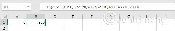 Cách sử dụng hàm SWITCH trong Excel 2016