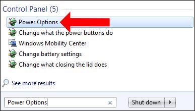 Cách chỉnh thời gian chế độ Sleep trên Windows 7