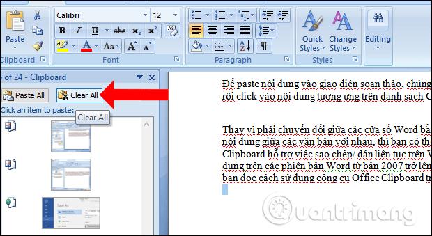 Cách dùng Office Clipboard tăng tốc sao chép trên Word - Ảnh minh hoạ 4