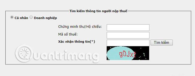 Truy cập vào đường link này cũng có thể tra cứu mã số thuế cá nhân online