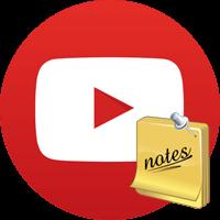 Cách viết ghi chú trên video YouTube