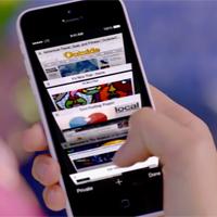 Cách mang tính năng tab lên Safari iPhone