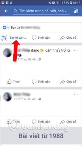 Cách thả biểu tượng cảm xúc máy bay trên Facebook - Ảnh minh hoạ 5