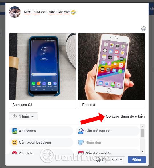 Cách tạo cuộc thăm dò ý kiến trên Facebook - Ảnh minh hoạ 5