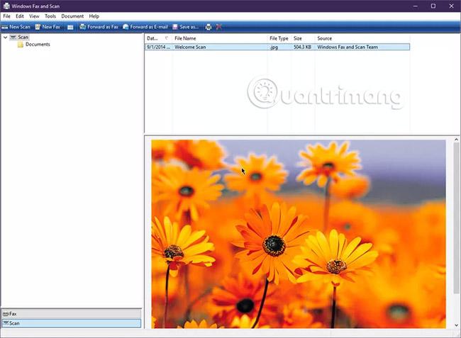 Cách scan tài liệu trong Windows - Ảnh minh hoạ 2