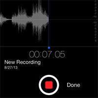 Cách chỉnh chất lượng file ghi âm voice memos trên iPhone, iPad