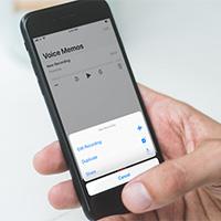 Cách tạo bản sao file ghi âm trong Voice Memos trên iPhone
