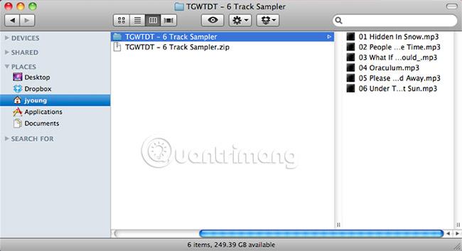 Cách giải nén file Zip trên máy tính