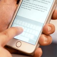 Cách sử dụng chế độ trackpad trên iPhone